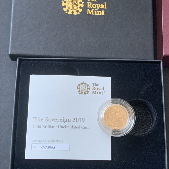 2019  Matt BU Gold Sovereign